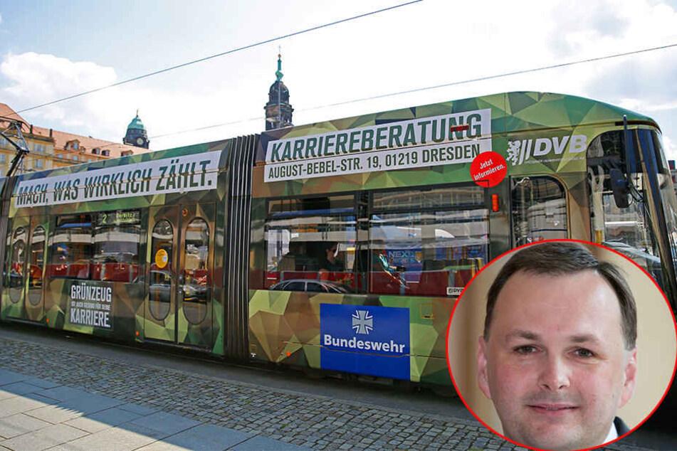 Linken-Chef will Bundeswehr-Werbung verbieten