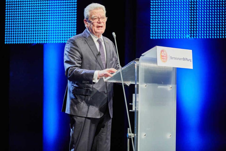 Der ehemalige Bundespräsident wird den Preis am 7. Juni in Gütersloh entgegennehmen.