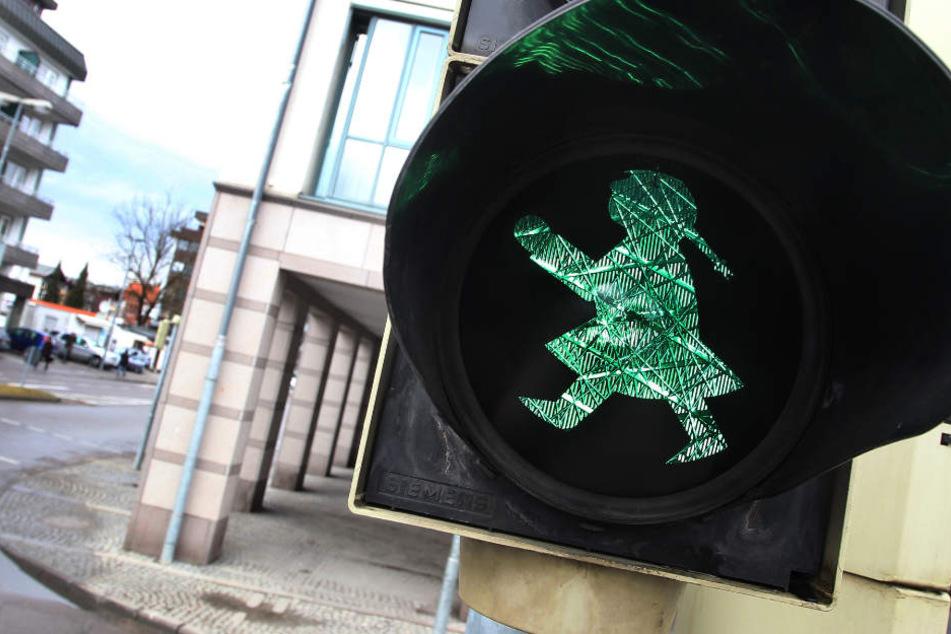 Flimmern in Leipzig bald noch mehr Ampel-Frauen an den Straßen? (Symbolbild)