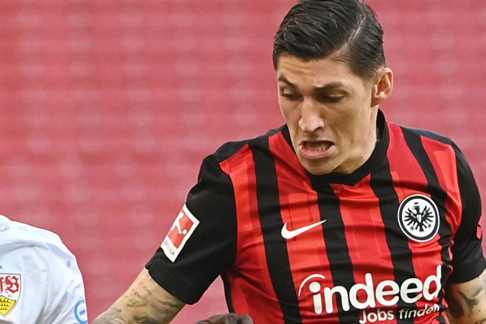 Steven Zuber (30) gehörte seit dem Sommer 2020 zum Team von Eintracht Frankfurt.