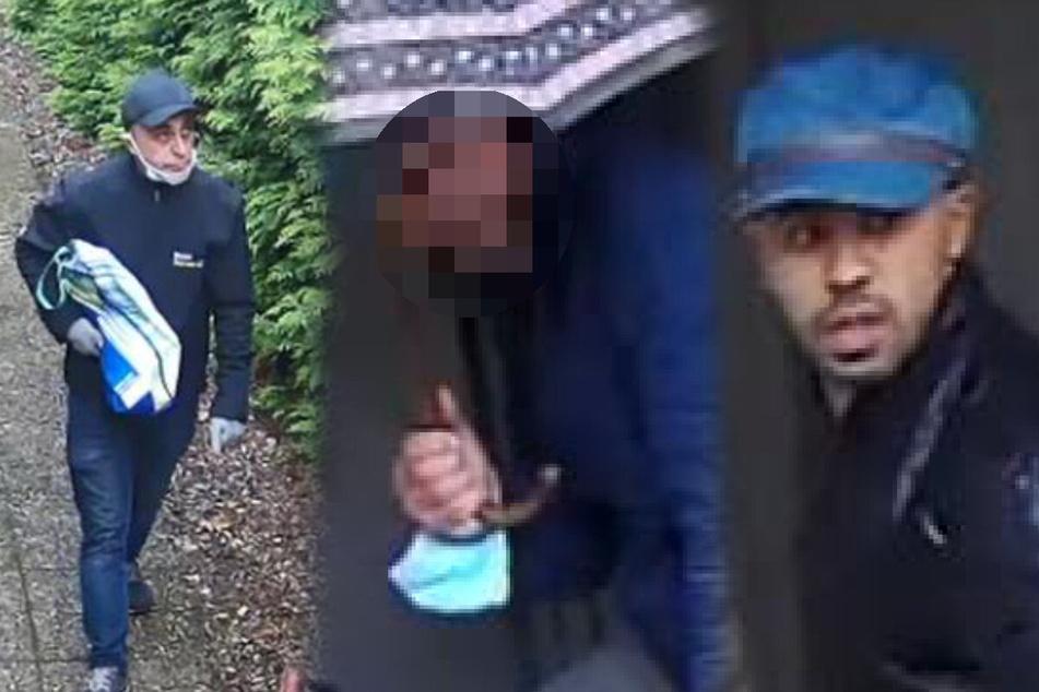 Nach Einbruch in Doppelhaushälfte: Polizei fahndet nach diesen Verdächtigen