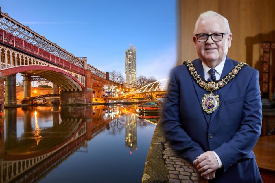 Wird die Zusammenarbeit mit Manchester schwieriger? Laut OB Tommy Judge wird es trotz Brexit wie gewohnt weitergehen. (Bildmontage)