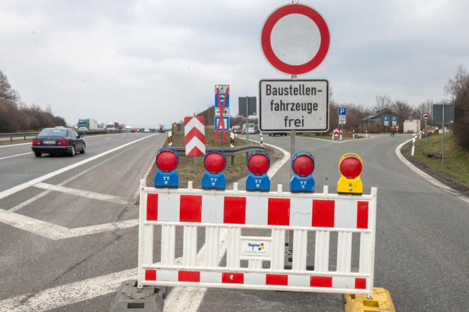Fahrbahn wird erneuert: A72-Anschlussstelle gesperrt