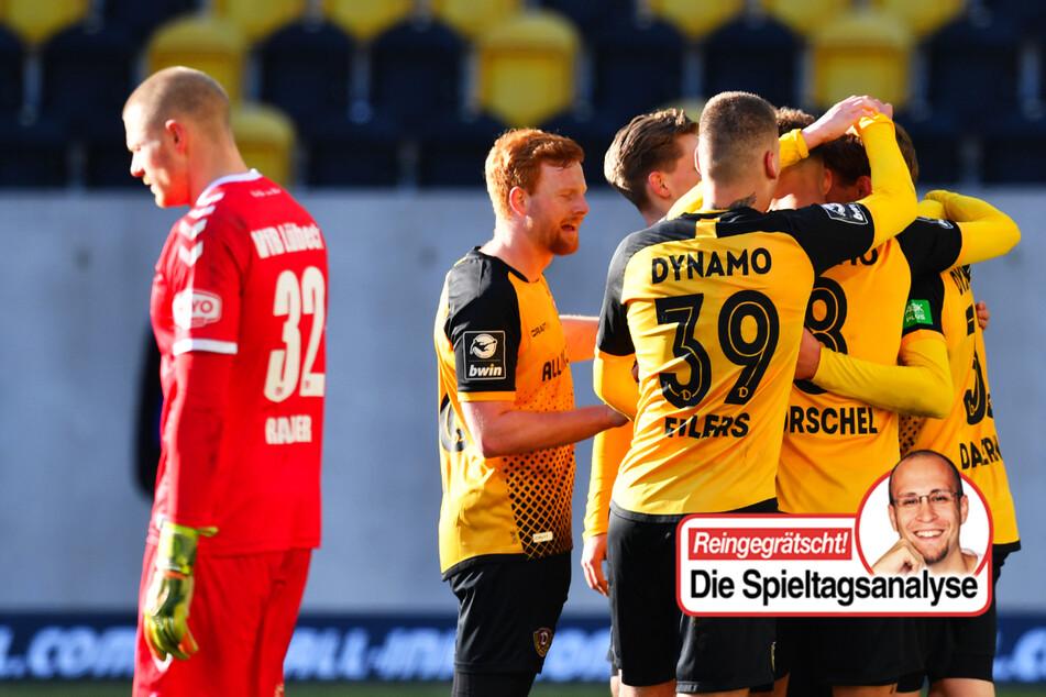 Dynamo unaufhaltsam und mit großer Moral, Lübeck und Haching in Bedrängnis!