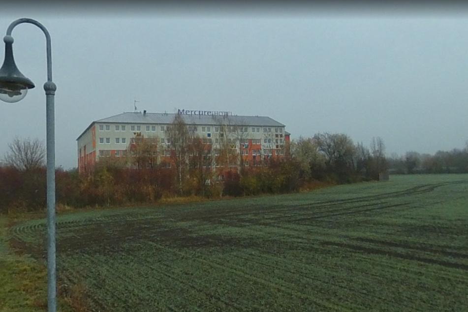 In diesem Mercure-Hotel in Landsberg bei Halle geschah der Anschlag.
