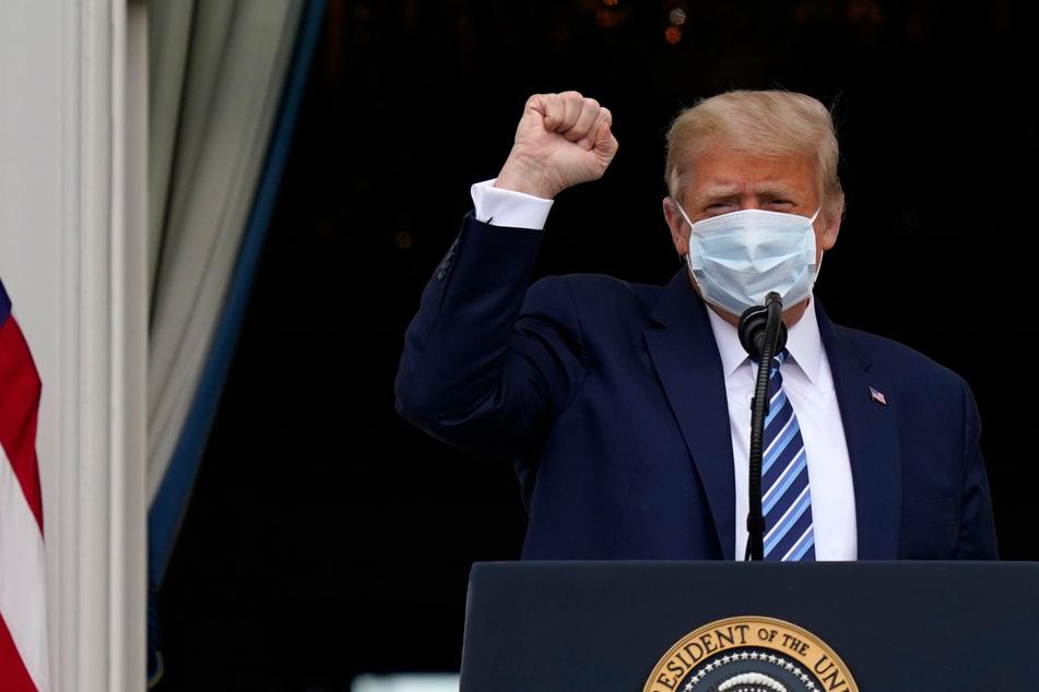 """""""Großartig"""" und """"unglaublich"""" wirksam: Donald Trump empfiehlt Corona-Impfung"""