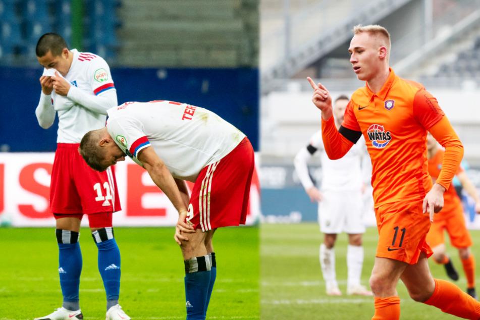 Top-Teams der 2. Liga verlieren! Kiel springt an die Spitze, zieht Aue nach?