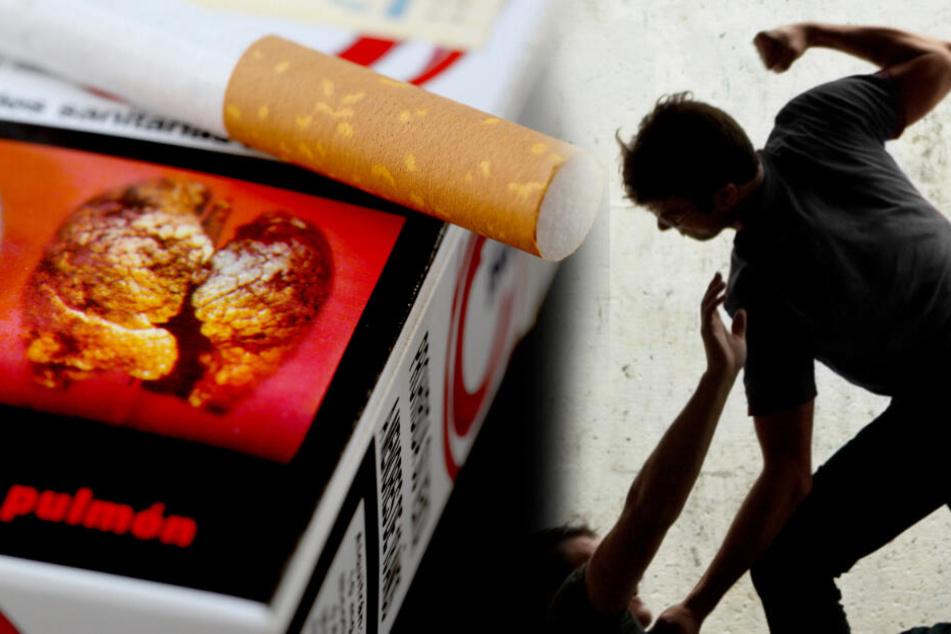 Wegen einer Schachtel Zigaretten: Jugendliche schlagen Mann nieder