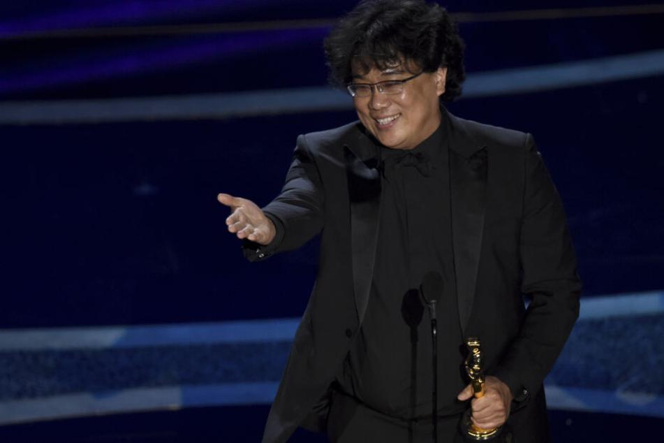 """Regisseur Bong Joon Ho (50) gewann den Oscar für die beste Regie für seinen Film """"Parasite""""."""