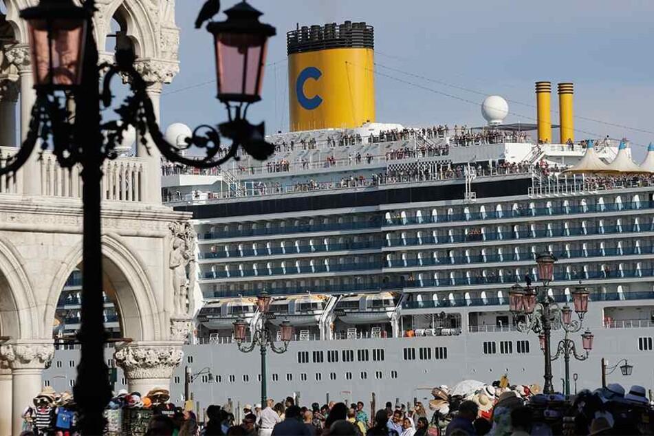 Nach Horror-Crash: Venedig verbannt Kreuzfahrtschiffe