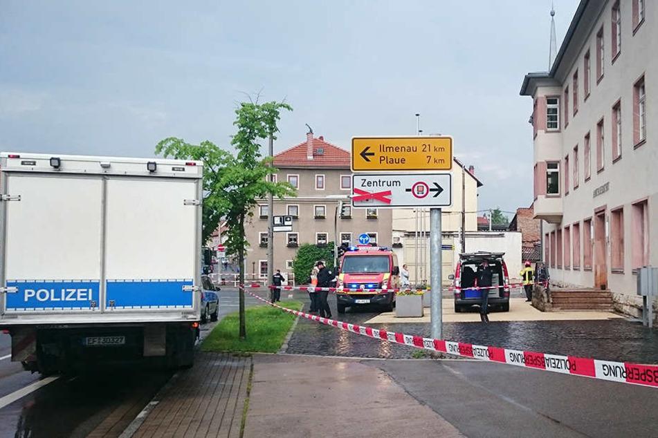 Der nach dem SEK-Einsatz am Amtsgericht festgenommene Mann ist wieder frei.