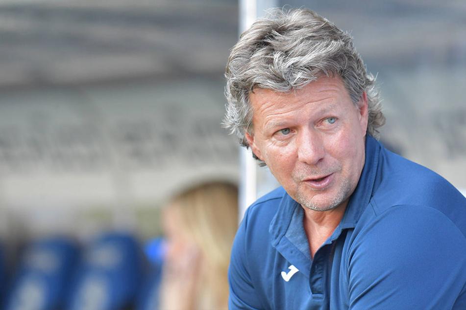 Jeff Saibene weiß, auf wen er im kommenden Duell gegen SpVgg Greuther Fürth setzt.
