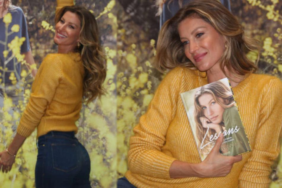 Topmodel Gisele Bündchen stellt ihr Buch vor und die Fans sind aus dem Häuschen