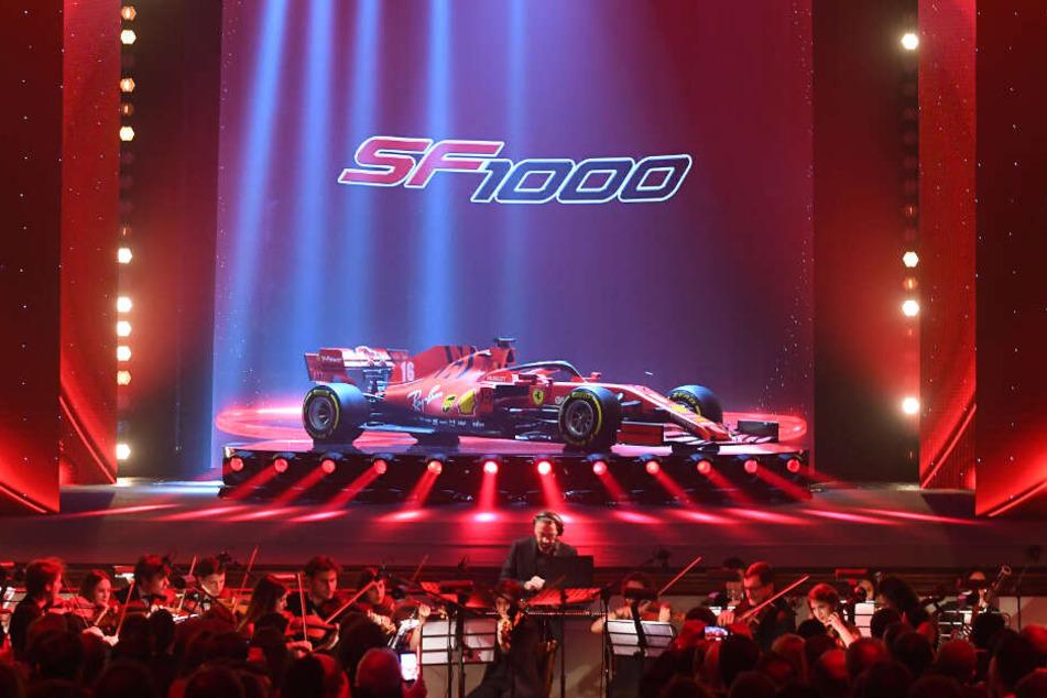 Mit dem SF1000 will Ferrari endlich wieder einen Titel holen.
