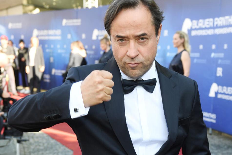 Jan Josef Liefers, Schauspieler, kommt zur Verleihung des Bayerischen Fernsehpreises ins Prinzregententheater in München.