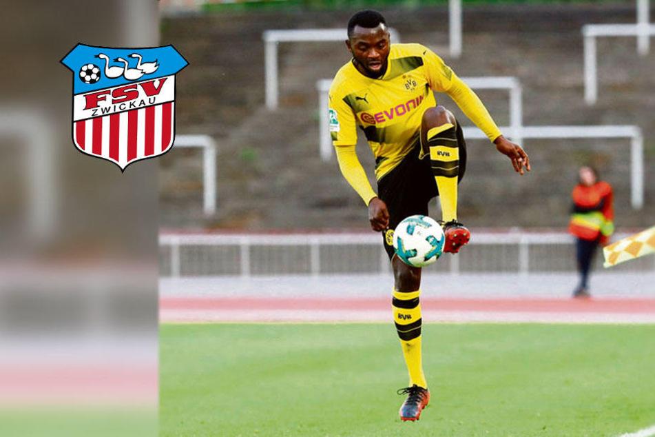 Erst Lotte, jetzt Zwickau: BVB-Talent Chato hofft auf Sprung in die 3. Liga