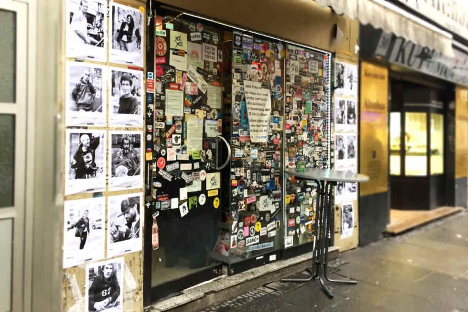 """Die Ausstellung im Kunstraum """"YokYok"""" befindet sich im Herzen des Bahnhofsviertels."""