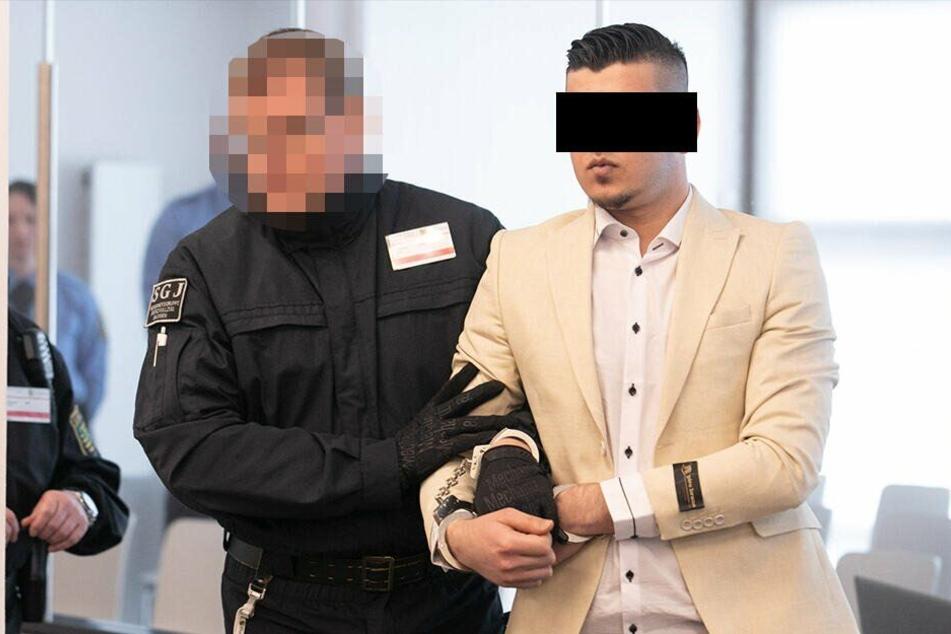 Der Angeklagte Alaa S..