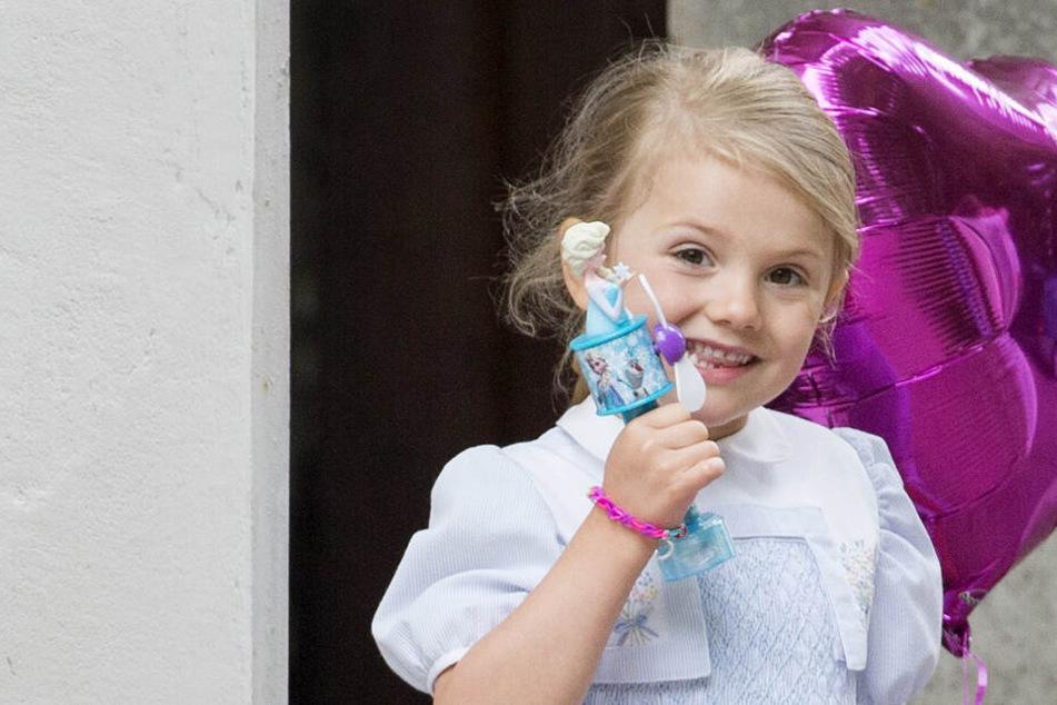 Schweden Prinzessin Estelle: Beinbruch im Familienurlaub
