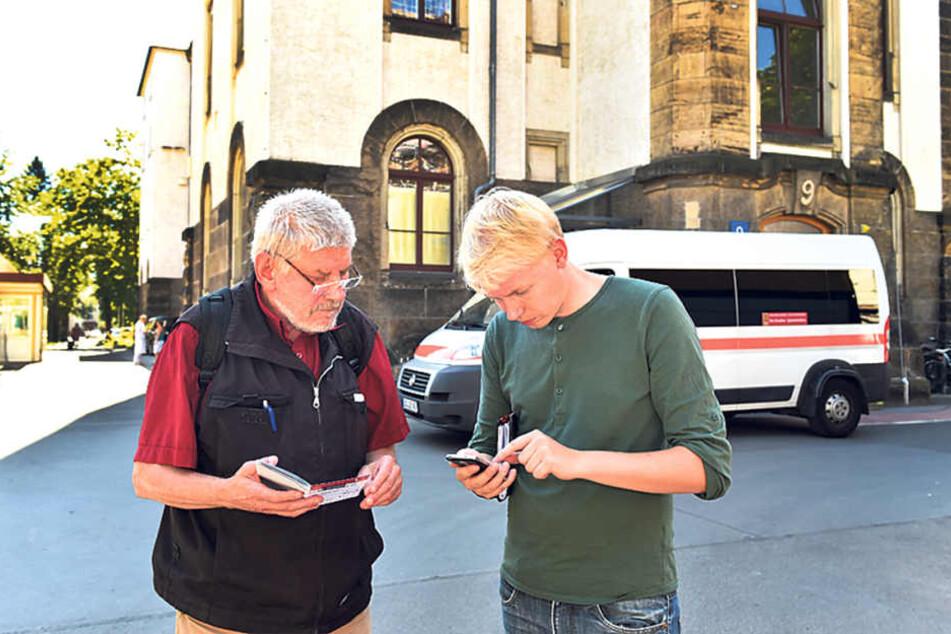 Planlos auf dem Gelände der Uniklinik? MOPO24-Redakteur Dominik  Brüggemann (r.) hat den Feldversuch gemacht und den richtigen Weg per neuer  Navigations-App erkundet.
