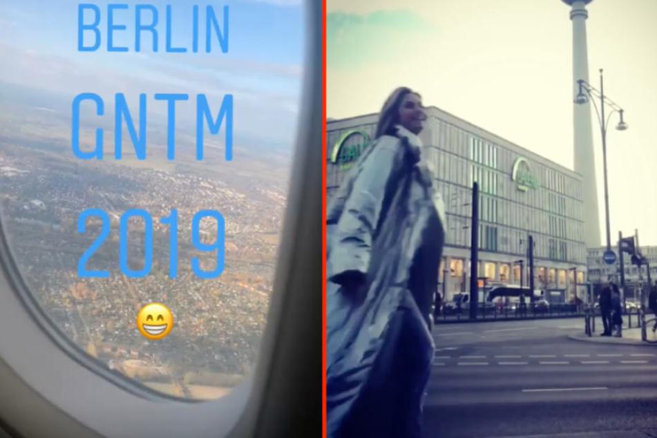 Heidi Klum (45) postete bei Instagram aus dem Flugzeug und machte wenig später Berlin unsicher.