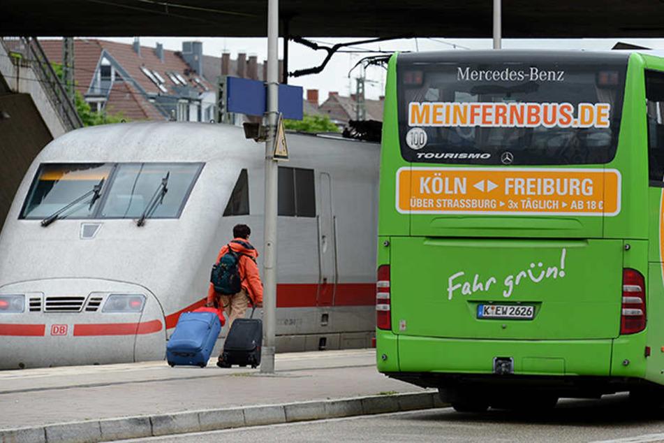 Die Qual der Wahl: Bus oder Bahn?