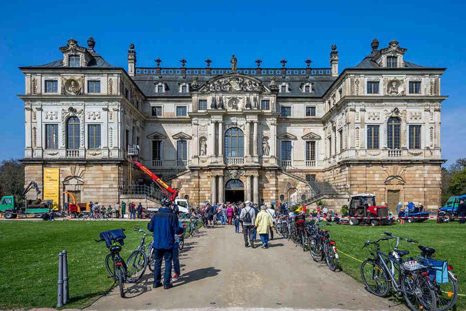 Das Palais im Großen Garten präsentierte die Saison-Highlights von  Schlösserland.