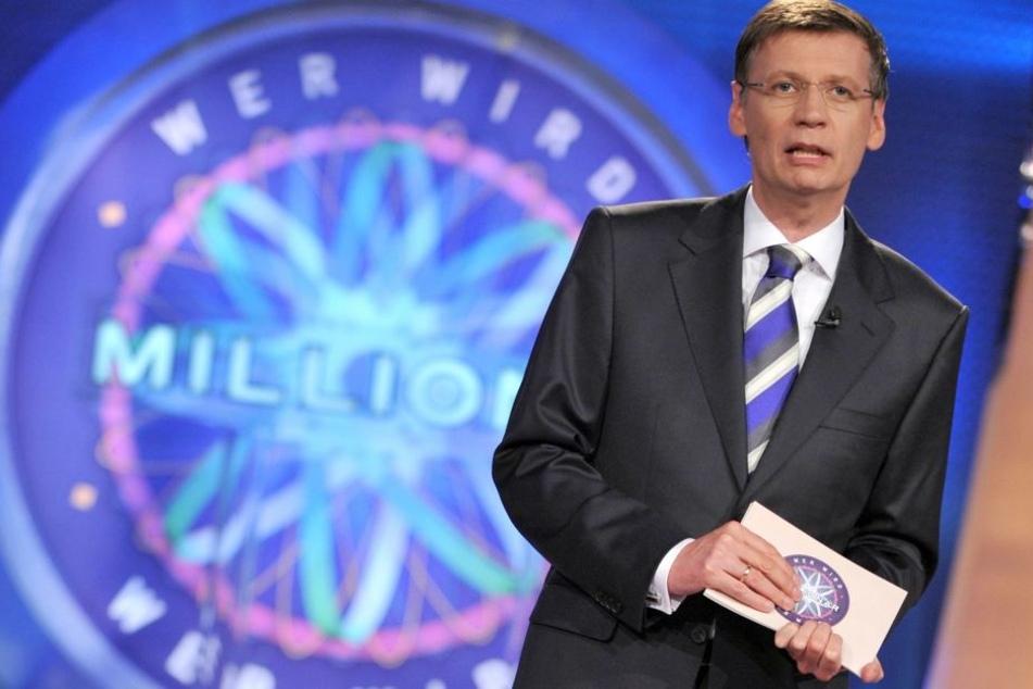 Moderator Günther Jauch staunte nicht schlecht über die Schlagfertigkeit des jungen Kandidaten.