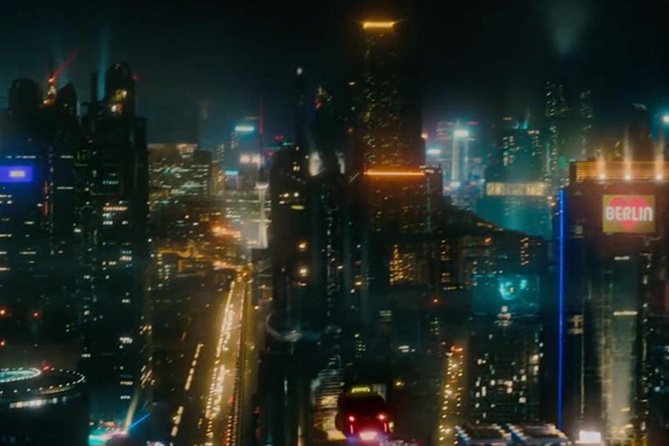 Ein futuristisches Berlin: Ob die Stadt in wenigen Jahren wirklich so aussehen wird?