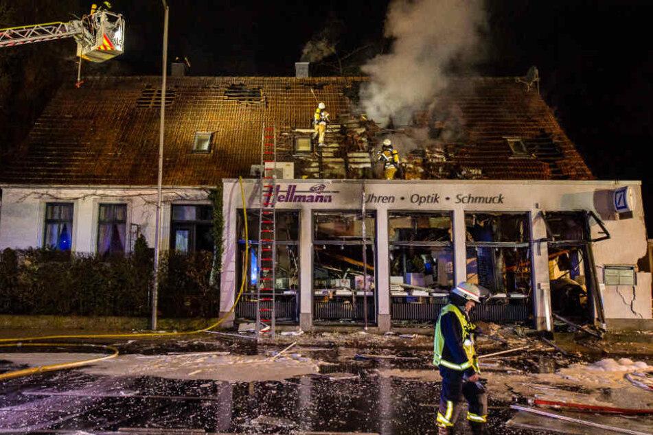 """Auch das Juwelier-Geschäft """"Hellmann"""" wurde damals zerstört."""