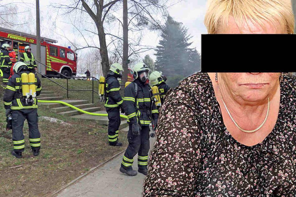 Von wegen Ausländer! Hat diese Rentnerin den Feuertod ihrer Nachbarin auf dem Gewissen?