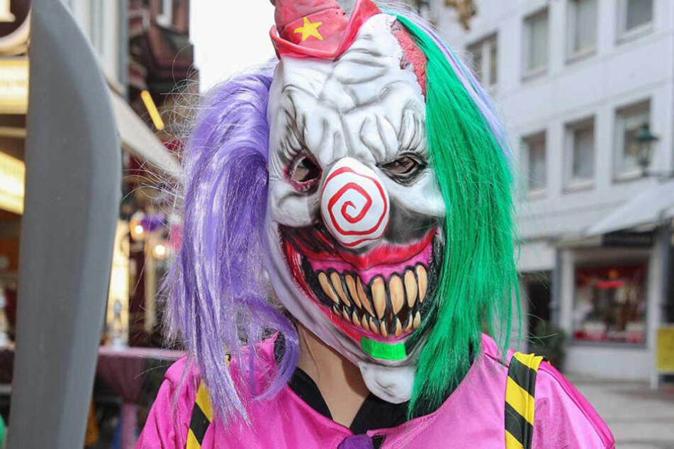 Die Meldungen über Horror-Clowns reißen nicht ab. (Symbolbild)