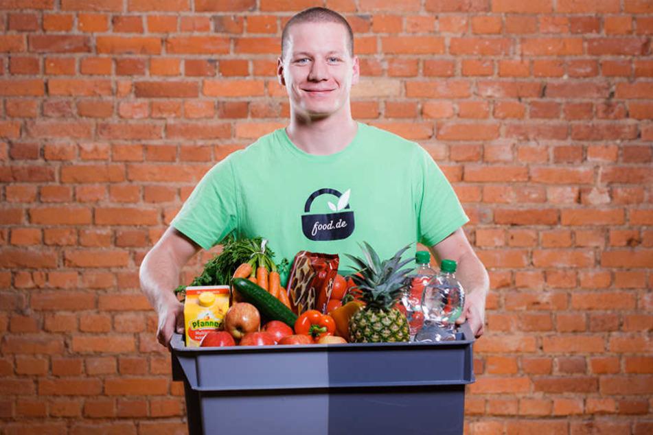 Lebensmittel frei Haus: Der Online-Supermarkt Food.de ist ein erfolgreiches Start-up, das aktuell 30 Städte  beliefert.