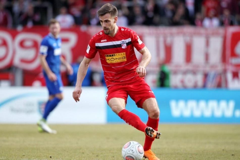 Vocaj spielte in der vergangenen Saison für den Drittliga-Absteiger Rot-Weiß Erfurt.