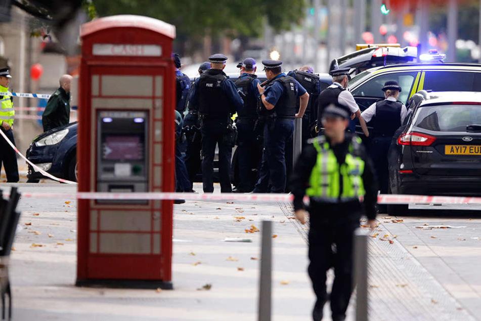 Die Polizei hat bereits Entwarnung gegeben, dass es sich nicht um Terror handelt.