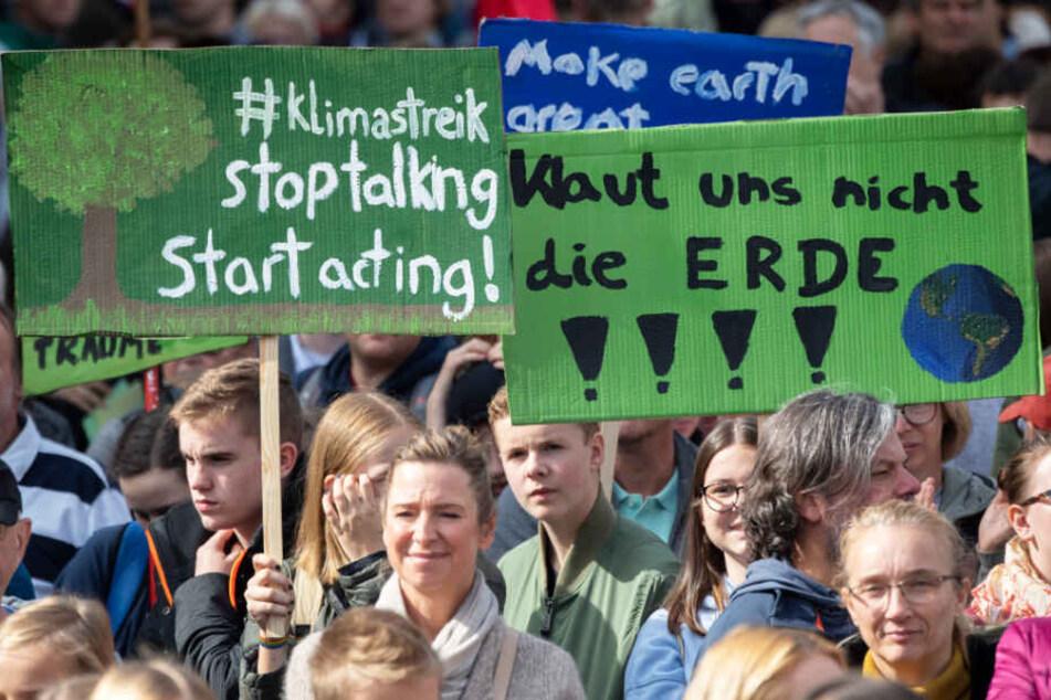 Fridays for Future-Bewegung will Zeil in Frankfurt blockieren