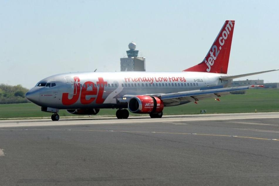 Eine Maschine von Jet2 musste umkehren - begleitet von zwei Jagdflugzeugen.