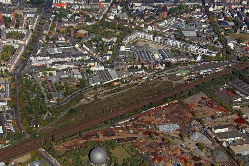 Am ehemaligen Bahnhof-Ehrenfeld entstehen 500 Wohnungen.