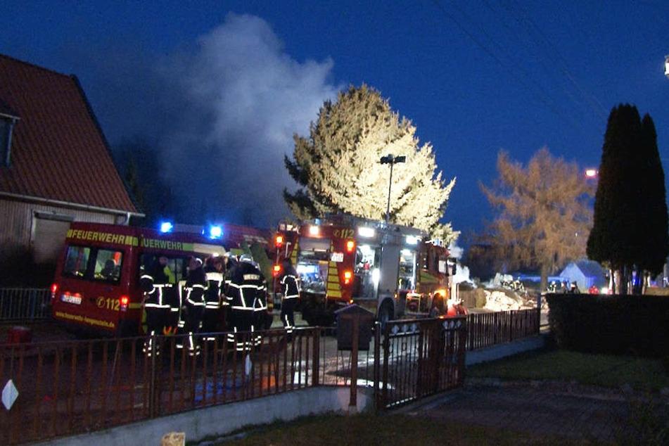 Am Freitagmorgen rückte die Polizei nach Halberstadt aus - ein Haus war explodiert.