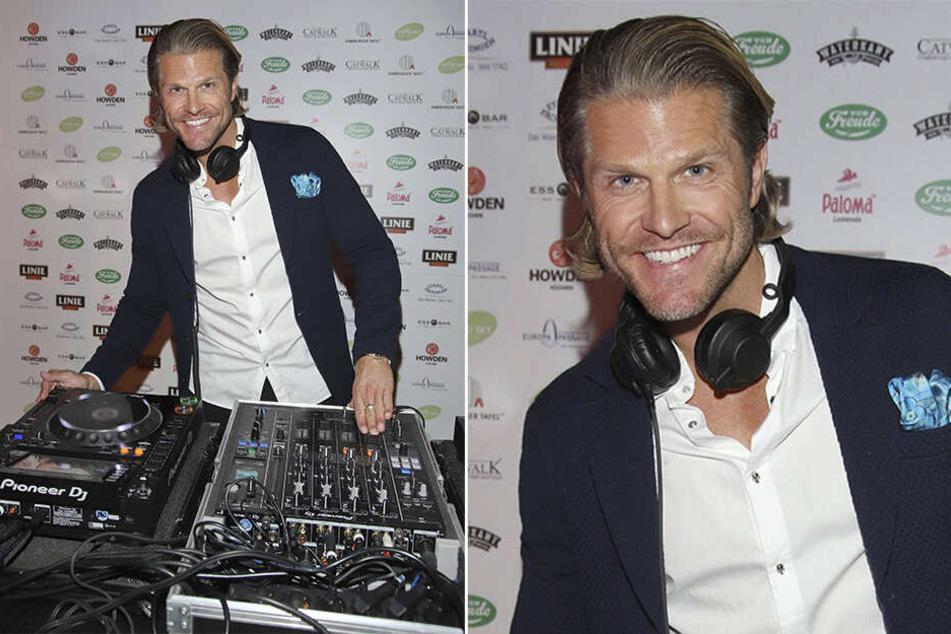 """Deutschlands erster """"Bachelor"""": Paul Janke (38) kommt zur Schampus-Party nach Dresden, ist als DJ gebucht."""