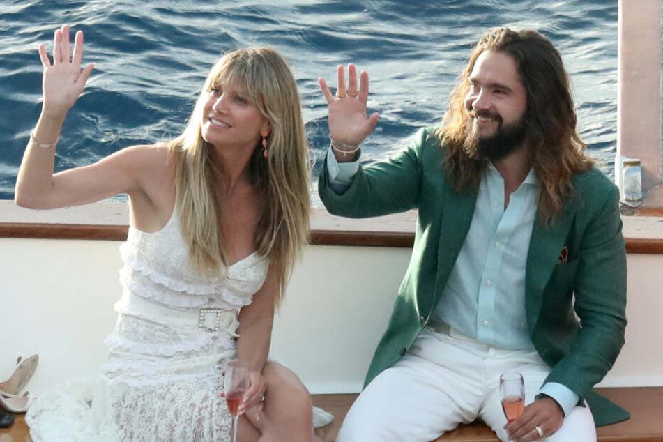 Heidi Klum und Tom Kaulitz gaben sich im August das Ja-Wort.