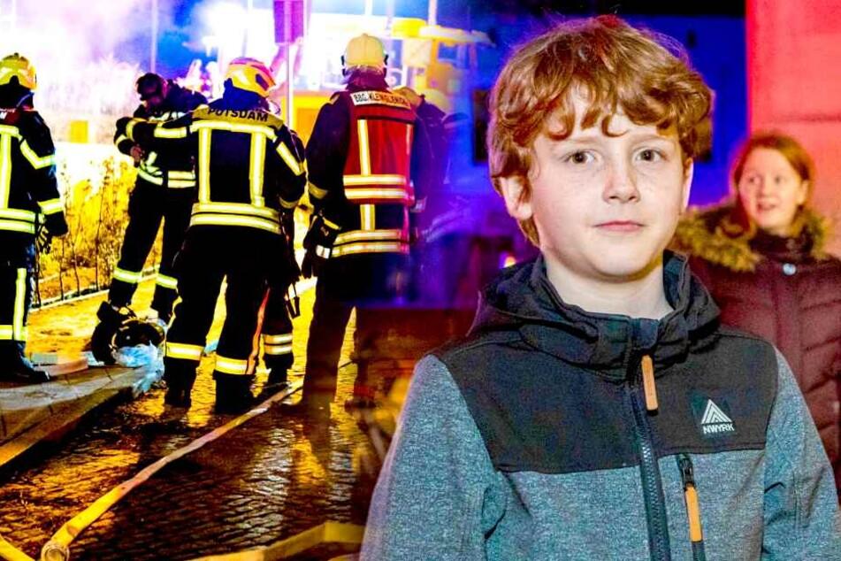 Riesiges Feuer in Tiefgarage: Kleiner Junge wird zum Helden!