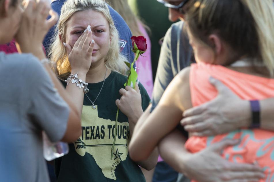 Der Schock nach dem tödlichen Massaker tief. Es war bereits der 22. Schusswechsel an einer US-Schule in diesem Jahr.