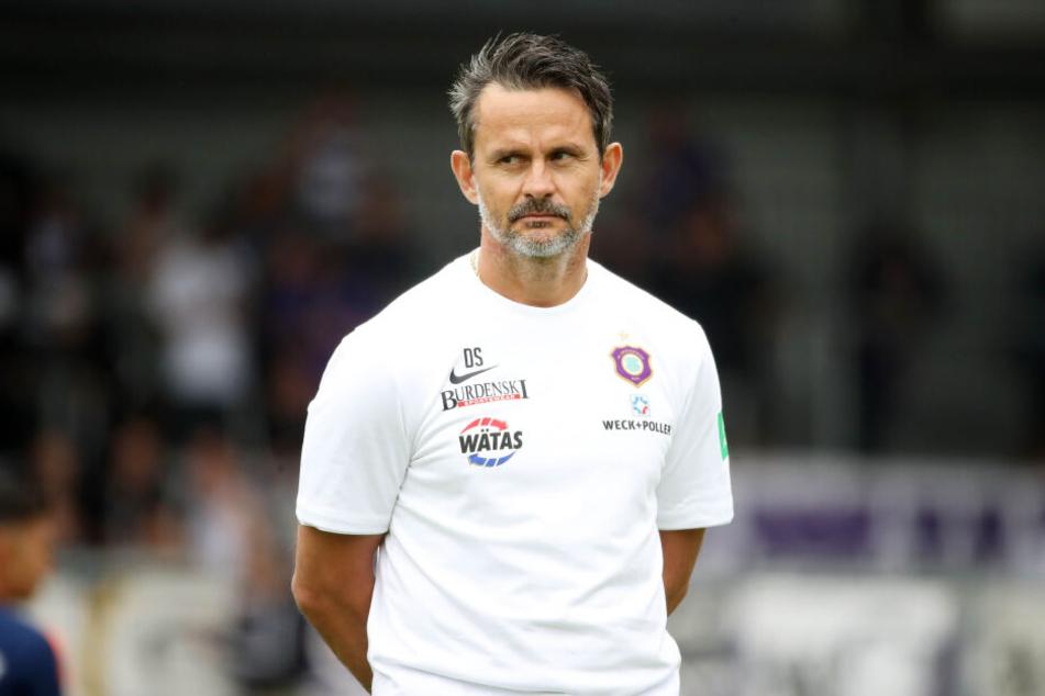 FCE-Coach Dirk Schuster wird die Zeit in der Länderspielpause intensiv nutzen.