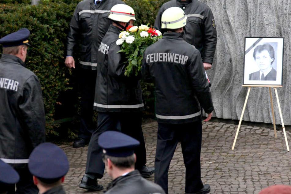 Feuerwehr gedenkt verstorbenen Kollegen!