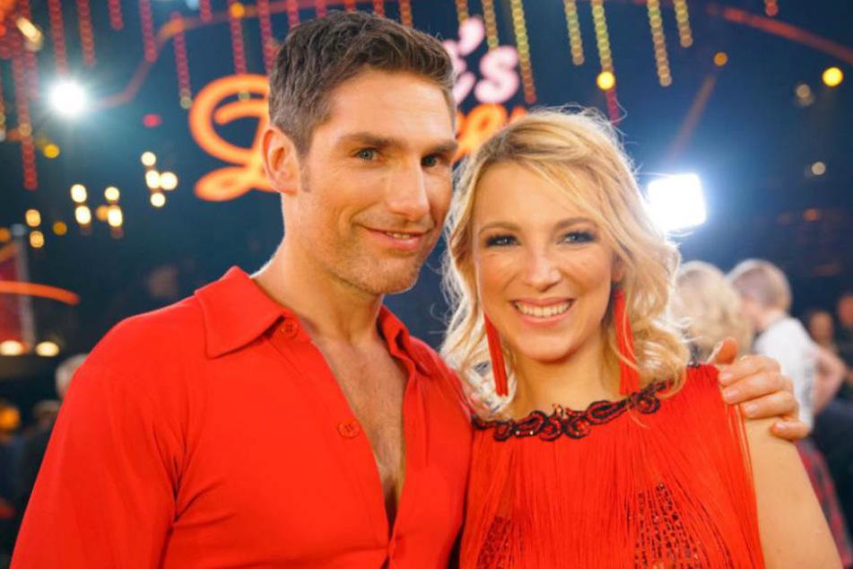 """Iris Mareike Steen (26) und Profi-Tänzer Christian Polanc (40) haben den Einzug ins Halbfinale bei """"Let's Dance"""" verpasst."""