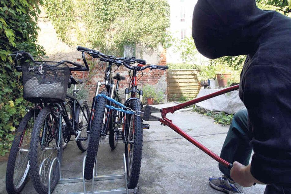 Fahrraddiebstahl ist in der Neustadt nach wie vor ein Problem.