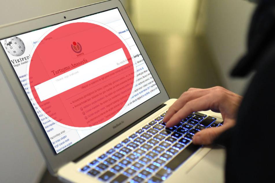 """Wikipedia-Gründer Jimmy Wales reagiert empört. """"Der Zugang zu Informationen ist ein fundamentales Menschenrecht."""""""