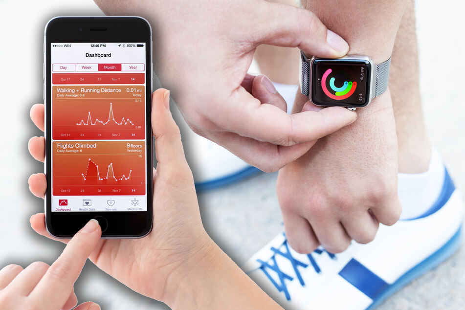 Apple's Health app is set to expand with new health features (stock image).