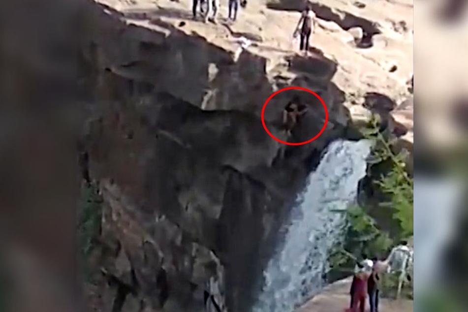 Ramjan Hussain Kaaji kam am Wasserfall auf eine verhängnisvolle Idee.